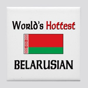 World's Hottest Belarusian Tile Coaster